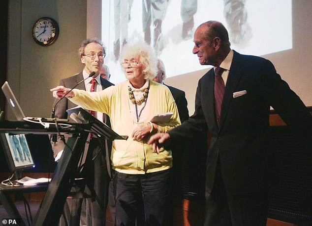 She was sent by The Times to accompany Edmund Hillary and Tenzing Norgay on their Everest mission on 1953