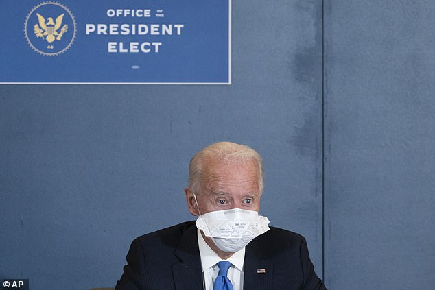 Biden met with both leaders as he remains shut out of a formal transition