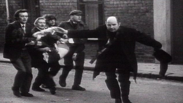 A montage blends footage from Bloody Sunday, the Catholic civil rights movement, British Army raids in Belfast and demonstrations supporting IRA hunger strikers. The IRA itself could not have put together a better recruiting video