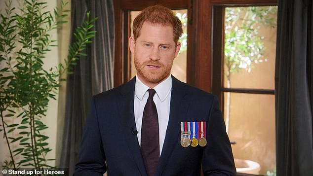 Prince Harry (pictured) sees the BBC's inquiry into Martin Bashir's Diana interview as a 'dive for truth', sources claim, as the Princess's brother says he is 'not at all satisfied' with the probe so far