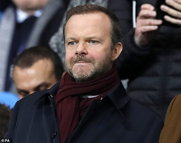 United (led by Ed Woodward, pictured) said they had 'procedures in place for such an event'