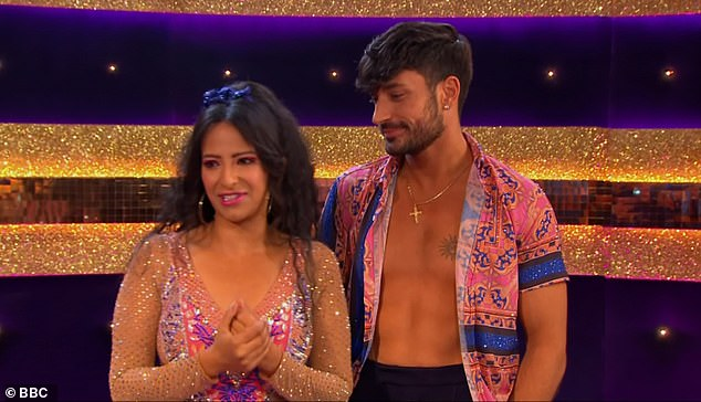Speculation: Rumours of romance between Ranvir and Giovanni began to circulate last week after head judge Shirley Ballas commented on their 'strong chemistry'