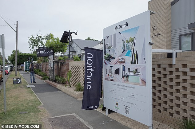 Ready to sell: As a result of the pandemic, this year's houses will go under the hammer on Saturday, before the results are aired on Sunday night's episode