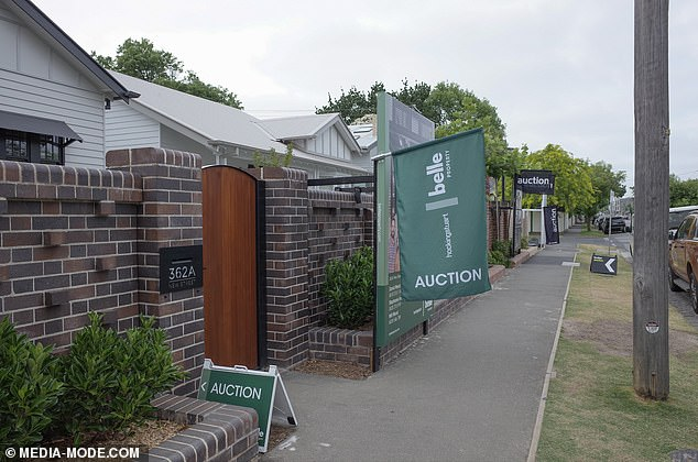 Fears: It's hoped the five Block properties will get anywhere between $3.2 million and $3.4 million at auction on Saturday. But, with auction clearance rates plummeting in the Victorian city amid the ongoing COVID-19 pandemic, there are concerns that not all five homes will sell
