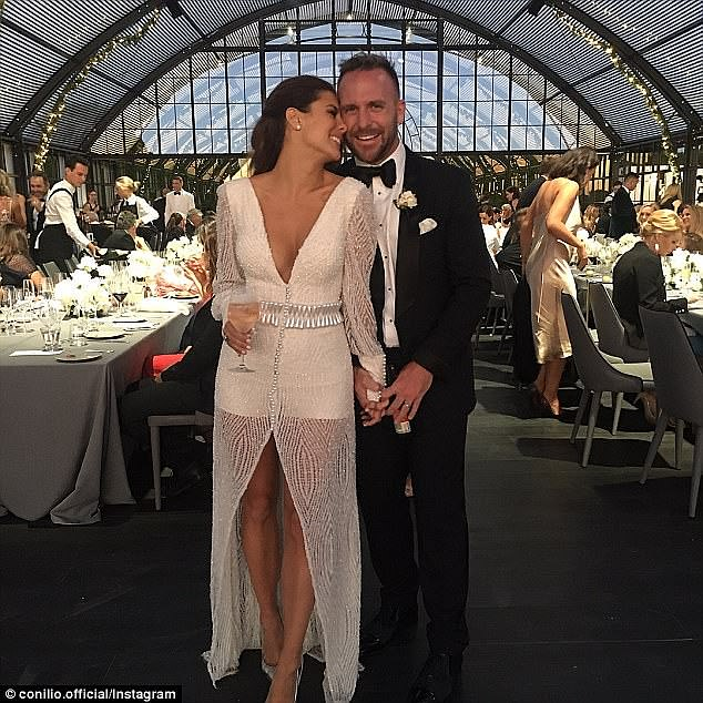 Lachlan Spark has quit social media after posting several personal messages criticising his TV journalist ex-wife Lauren Phillips for being selfish during their short marriage