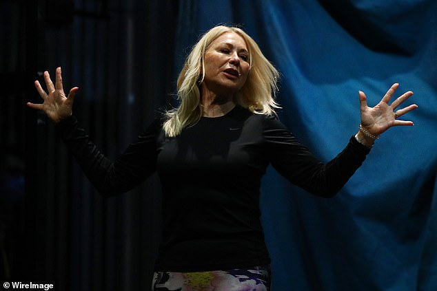 Busy!Kerri-Anne Kennerley was dumped from Channel Ten's breakfast program Studio 10 three months ago. But the 67-year-old has found a way to bounce back - by taking a role in new musical Pippin. Pictured in rehearsals