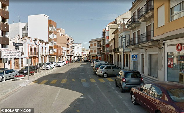 A 52-year-old Pakistani doctor who allegedly charged British patients up to £20,000 a time has been arrested in Spain. Pictured: Picassent town in Spain, near to where the clinic was located