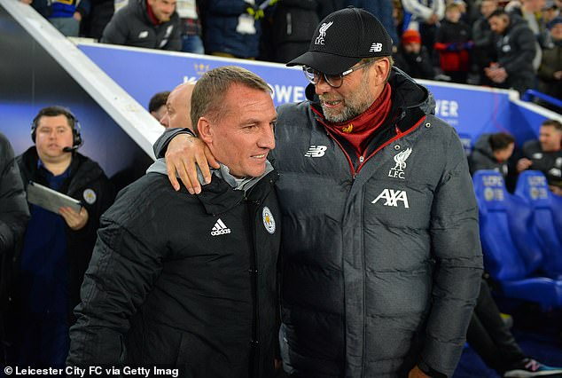 Brendan Rodgers and Jurgen Klopp do battle on Sunday with their teams at the top of the pile
