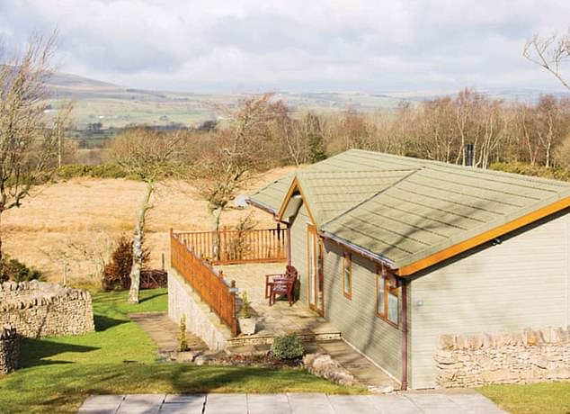 Shock: Rent for Hoseasons lodges near Ullswater went up by 40 per cent when booking was moved to 2021