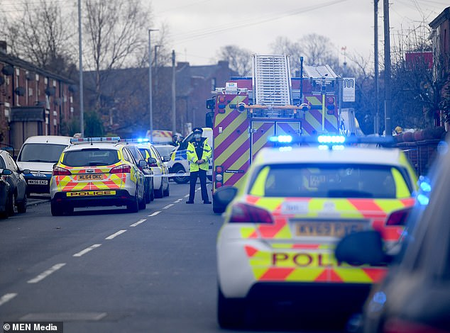 The woman's family are being supported by specialist officers, said Greater Manchester Police