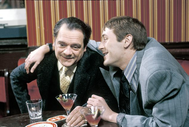 Only Fools and Horses: David played Del Boy for ten years alongside co-star Nicholas Lyndhurst, who portrayed his impressionable younger brother Rodney Trotter