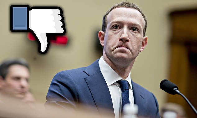 Tension: Facebook, founded by Mark Zuckerberg, has lost a legal case with the CMA