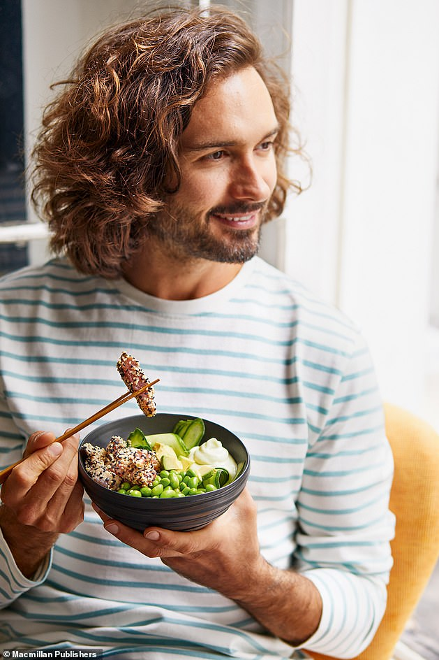 I¿m urging you to eat three deliciously nourishing and filling meals a day. And if you¿re still hungry? You can indulge in two healthy snacks every day too, writes Joe Wicks