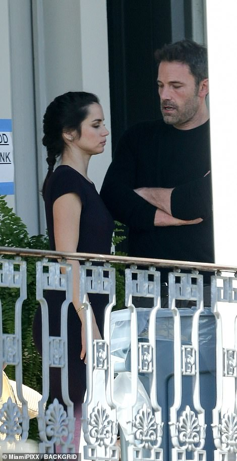 Actors: The pair first met in 2019 while filming Deep Water