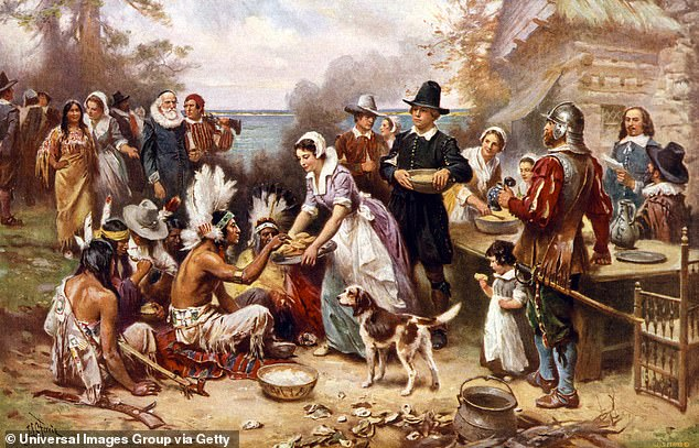 The traditional narrative portraying the pilgrims as hardy pioneers and adventurers has been dismissed by critics who believe they were colonizers who participated in a slow-motion genocide of Native Americans.