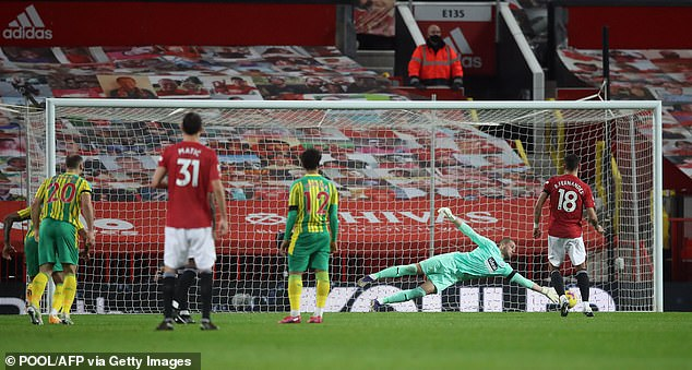 They had to overcome a performance inspired by former United goalkeeper Sam Johnstone