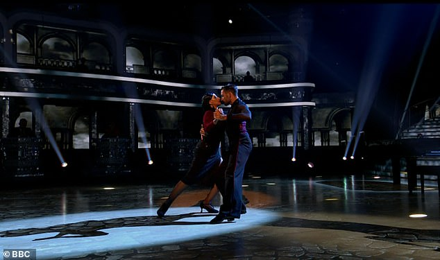 Impressive!The sensual dance scored Ranvir an impressive 27 out of 30 - an eight from Craig Revel Horwood, a nine from Shirley, and a staggering ten from Anton Du Beke