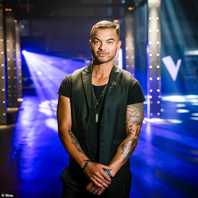 Loyal to one format: Guy, who has served as a judge on The Voice Australia since 2019, explained that he wouldn't feel comfortable jumping ship to yet another franchise