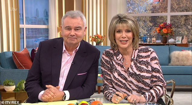 New show?Eamonn Holmes and Ruth Langsford are reportedly set to be offered their own show by the BBC following their axing from ITV's This Morning
