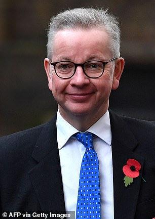 Cabinet Office Minister Michael Gove