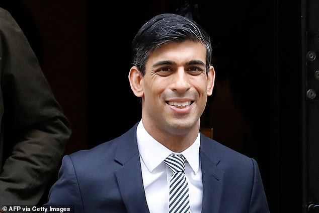 It's not just Priti; it's Rishi Sunak (pictured), it's Sajid Javid, it's Shaun Bailey, who's running for Mayor in Lond on. The double standards are sickening