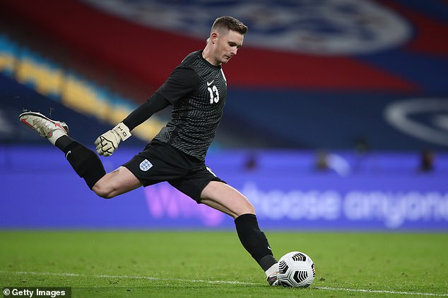 The 23-year-old keeper made his England debut recently and wants to be in Euro 2020 squad