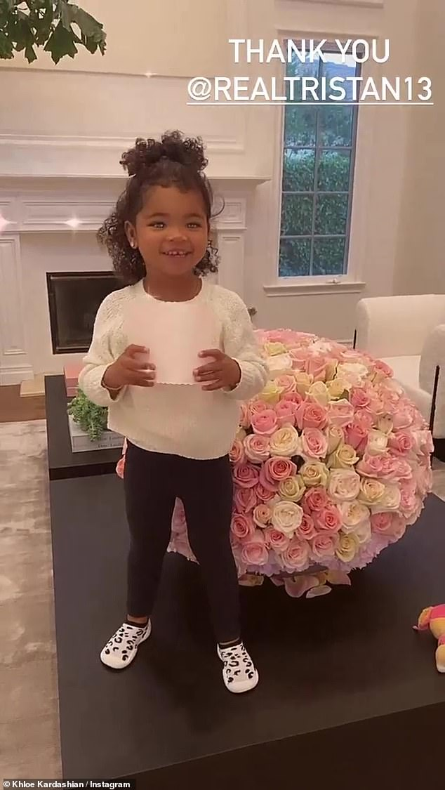 Floral arrangment:Kardashian recently took home the People's Choice Award for Reality TV Star of 2020 during the annual fan-voted ceremony last Sunday night