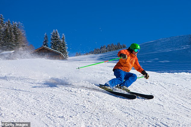 Top level ski instructors can remain in the EU but all others will have to return to the UK after December 31 (file photo)