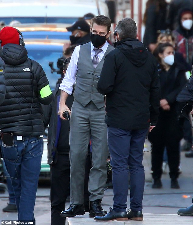 Tom Cruise and Hayley Atwell continue to shoot Mission Impossible 7 in Rome