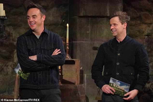 Unexpected: Some I'm A Celebrity fans were left disappointed on Saturday night after tuning in and discovering the show wasn't live and instead best bits from the week (Ant and Dec pictured)