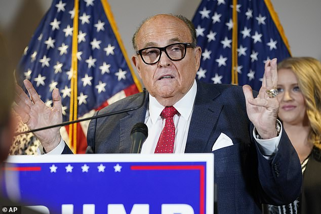 Trump's personal lawyer Rudy Giuliani appeared in court for the first time in decades to argue the case last week