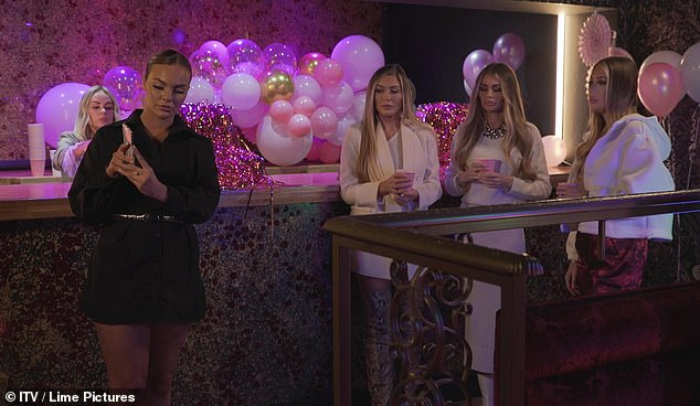 'I loved it': On the latest series of TOWIE, Kelsey opened up about the difficulties of being Kennedy's sister and hosted a Ping-Pong event to raise awareness for SMA