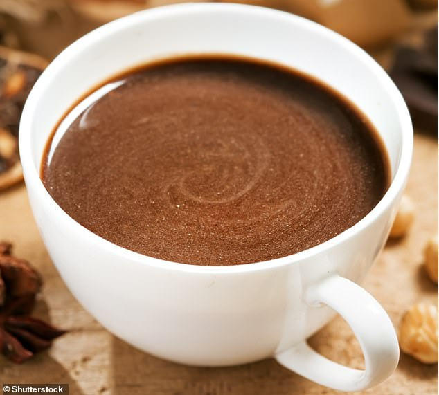 Consider substituting cocoa, found in solid bars and drinking powder, for other foods, particularly high-calorie snack foods like crisps, sweets and cake