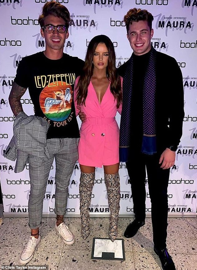 Curtis Pritchard feels 'betrayed' by ex Maura Higgins and friend Chris Taylor amid new romance