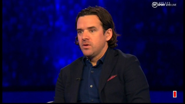 BT Sport specialist Owen Hargreaves described the midfielder's performance as 'close to perfect'