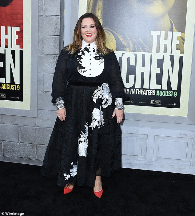 Luxury rental: Melissa McCarthy is certainly living like a Hollywood star while working on the $100million Hulu mini series Nine Perfect Strangers in Australia. Pictured in August 2019