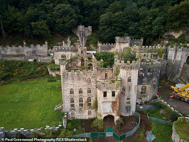 Vast:This year's I'm A Celebrity has been relocated to Gwrych Castle in Wales from its usual home in Australia due to the COVID-19 pandemic