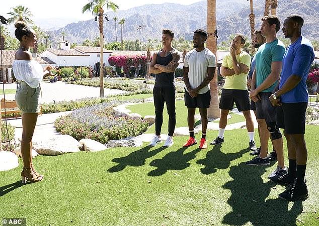 Resort life: The Bachelorette was filmed at the La Quinta Resort & Club in La Quinta, California amid the coronavirus pandemic
