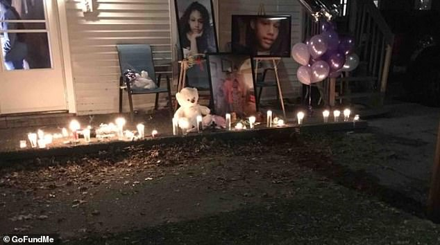 A vigil was held outside her home following the news of her death.News of her death was shared on a GoFundMe page created to help support Honestie's mother and the teen's four siblings while she was in hospital
