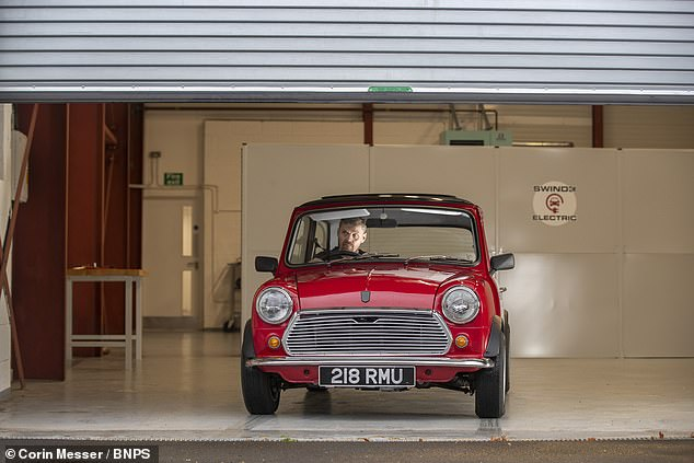 The development comes just a week after the UK Government announced that the sale of new diesel and petrol vehicles will be banned from 2030 onwards. Experts believe that all second-hand cars and classic vehicles will end up being driven off the road — metaphorically speaking — in the not-to-distant future. Pictured, an electric-converted Mini