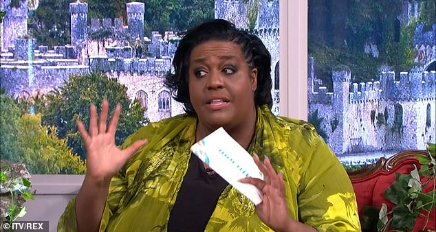 'It's type two... I need to turn it around': Alison Hammond revealed on This Morning on Wednesday she's pre-diabetic as she pleaded with the public to help her 'change her ways'