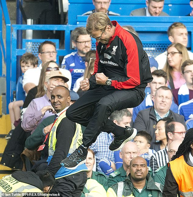 Klopp's first win as Liverpool boss came at Chelsea, after a midweek win over Bournemouth