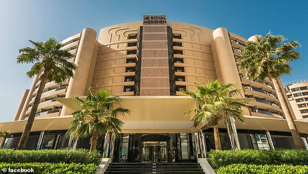 Rhodes had two restaurants in Dubai, one called Rhodes 2010 at Le Royal Meridien Beach Resort and Spa, pictured