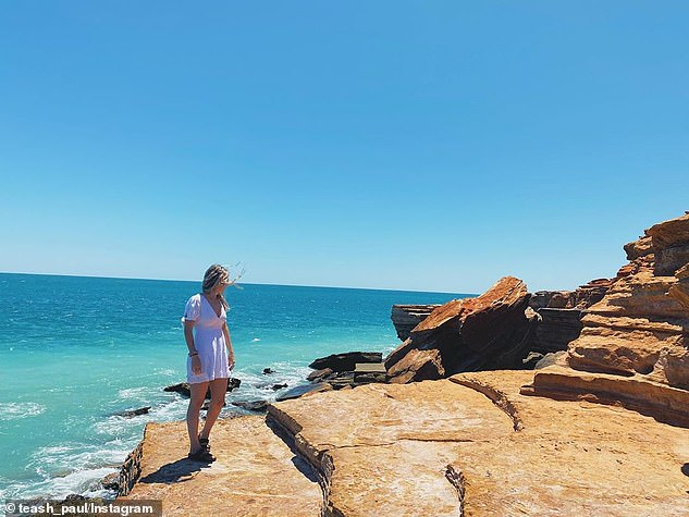 The expansive beach town of Broome (pictured) combines the best WA has to offer, with red sand rock formations that meet crystal blue water and white sand beaches that stretch on further than the eye can see