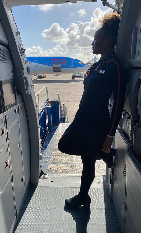 Justice worked at JetBlue