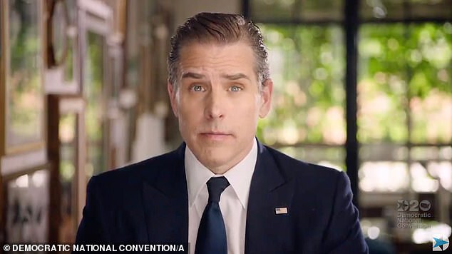 Part of the campaign: Donald Trump slammed Hunter Biden during his failed campaign, demanding a probe into his business dealings in China, some of which were detailed on his infamous laptop