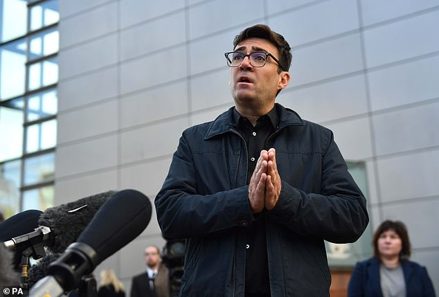 Mayor of Greater Manchester Andy Burnham believes the region will return to Tier 3 restrictions - the toughest of the three tiers - when the national lockdown ends on December 2