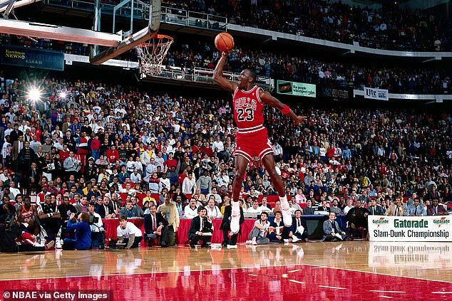 Baller: Jordan won six championship rings with the Bulls and is the current principal owner of the Charlotte Hornets