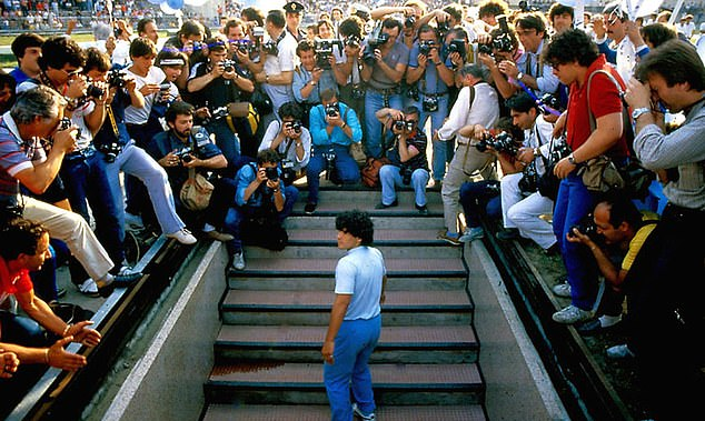 Maradona had a major impact on the city of Naples after arriving from Barcelona in 1984