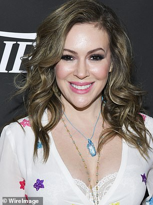 Alyssa Milano took to Twitter on Tuesday and offered an 'olive branch' to supporters of President Trump